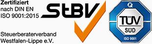 Siegel DIN EN ISO 9001:2015